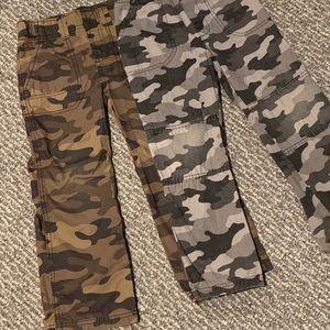 👻2/$20 Boys Camo Pants Bundle